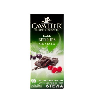 CAVALIER Dark berries 85%, 85g