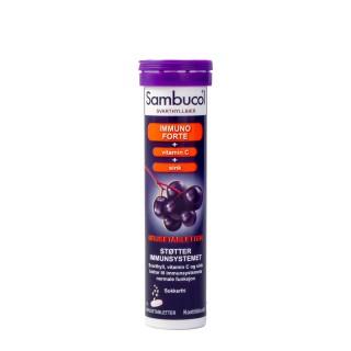 SAMBUCOL Immuno Forte, 15 brusetabletter