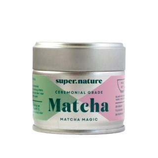 SUPERNATURE Premium Matcha, 30 gram