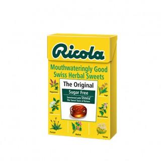 Ricola Original sugar free med stevia, 45 g