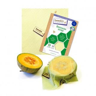 Beeskin miljøvennlige bivoksark, 3 stk  M, L og XL