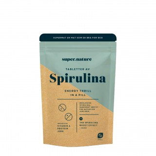 Supernature Spirulina-tabletter 300 stk