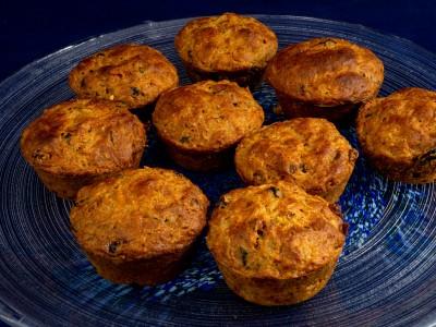 Sunne aprikosmuffins